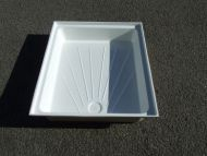 "Fibreglass shower tray 24"" x 36"""