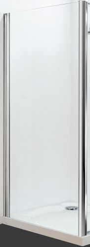 09.Petite Style Plus 1600mm x 700mm Silver Finish Side Panel