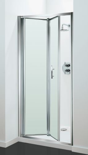 05 Petite Style Plus 1700mm X 700mm Silver Finish Bifold Shower Door